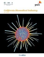 California Biomedical Industry - California Healthcare Institute
