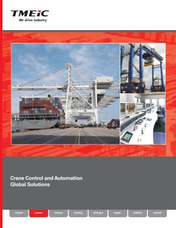 Crane Control and Automation Global Solutions - Tmeic.com