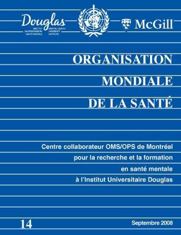 CC - Rapport des activités du Centre - Institut universitaire en santé ...