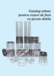 Catalog tehnic pentru couri de fum cu perete dublu