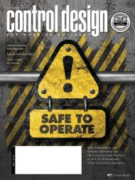 May 2010 - Control Design