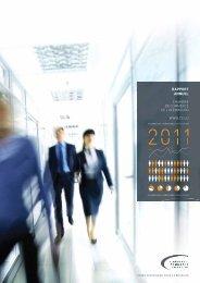 Rapport annuel 2011 - Chambre de Commerce
