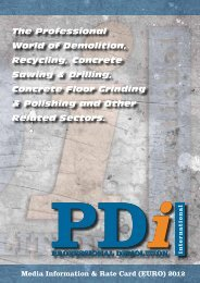 The Professional World of Demolition, Recycling ... - Pdworld.com