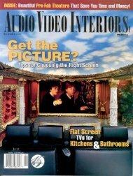 Audio Video Interiors Magazine