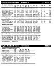 Blyth - Seaton Delaval - TravelNorthEast.co.uk