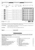 Antragsformular Studienfach-/Studiengangwechsel - Seite 2