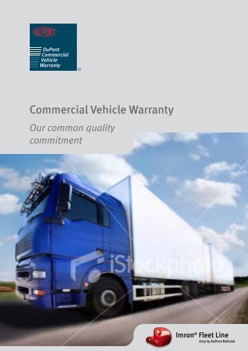 Commercial Vehicle Warranty Flyer - DuPont Refinish