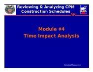 Module #4 Time Impact Analysis - SAME Anchorage Post