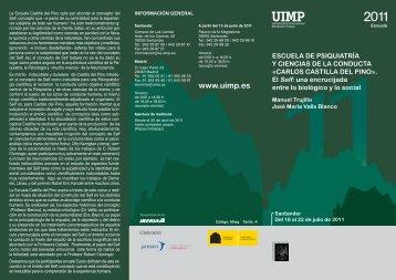 Descargue el tríptico - Asociación Española de Neuropsiquiatría
