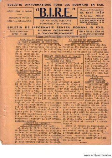 BIRE NR. 232 - arhivaexilului.ro