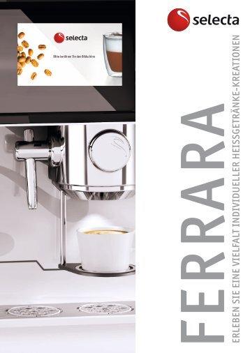 Prospekt Ferrara - Selecta Deutschland GmbH