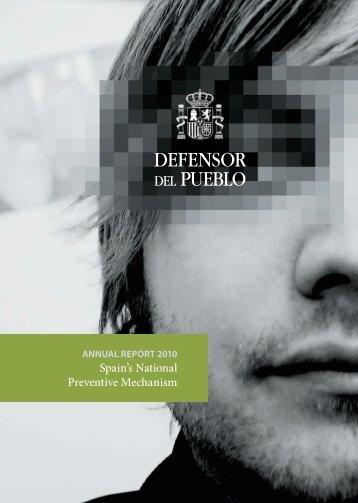 2010 - Defensor del Pueblo