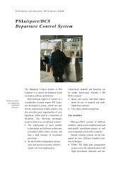 PSIairport/DCS Departure Control System - PSI Logistics GmbH
