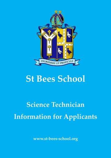 Informaton for Applicants_Sci Tech - St Bees School