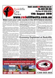 20100817Edition267 - Redcliffe City News