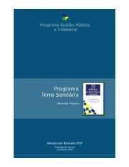 Programa Terra Solidária