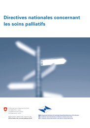 Directives nationales concernant les soins palliatifs - Equipe Mobile ...