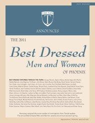 Best Dressed Men and Women
