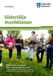 Södertälje musikklasser - Södertälje kommun