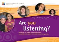 Are You Listening? - Ccyp.wa.gov.au