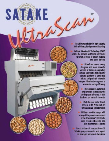 The Ultimate Solution in high capacity, high efficiency ... - Satake-USA
