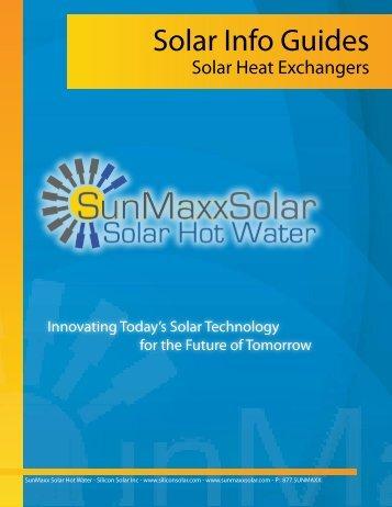 Brazed Plate Solar Heat Exchangers - SunMaxx Solar