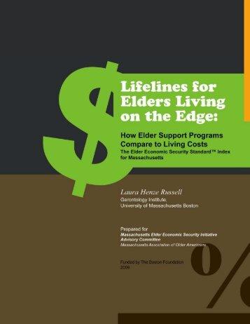 Lifelines for Elders Living on the Edge: How Elder - Wider ...