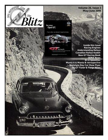 May June 08 Blitz - Opel Motorsports Club