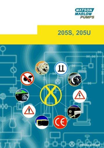 205S, 205U - Watson-Marlow GmbH