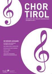 2. Ausgabe - Tiroler Sängerbund