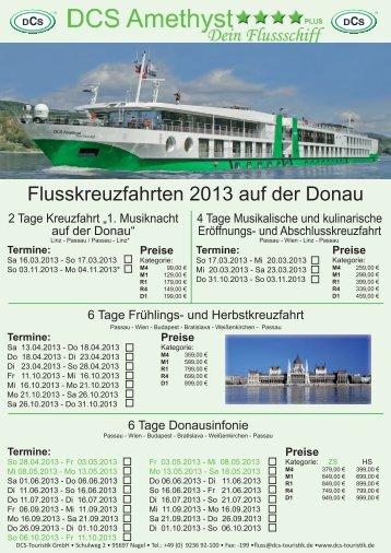 Termine - DCS Touristik