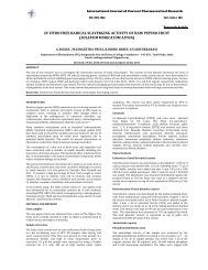 in vitro free radical scavenging activity of raw pepino fruit (solanum ...