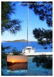 Mitsegeln 2011 - Yachtcharter