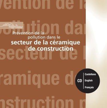 révention de la a pollution dan le secteur de l céramique de ...