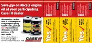 Page 1 When you buy a 20 litre drum of Akcela engine oil from your ...