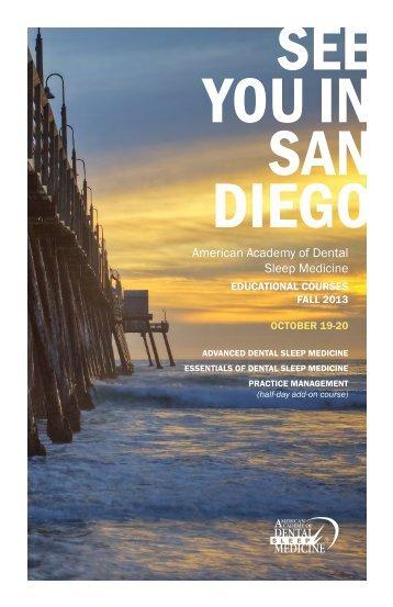 Brochure - The American Academy of Dental Sleep Medicine