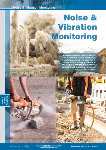 Noise & Vibration Monitoring - Wagtech Projects Ltd