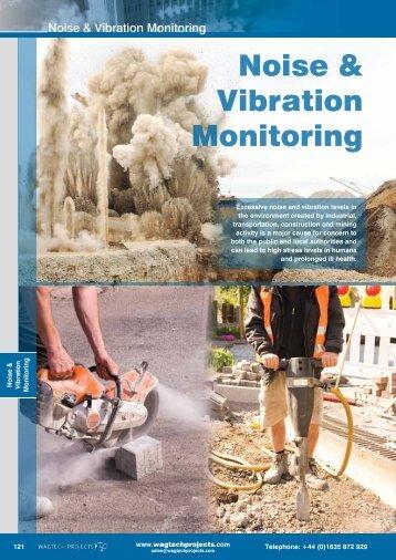 Noise & Vibration Monitoring - Wagtech Projects Ltd