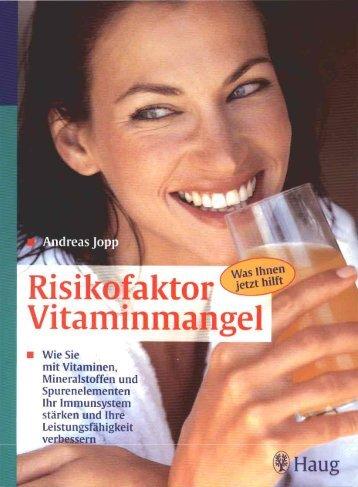 Risikofaktor: Vitaminmangel