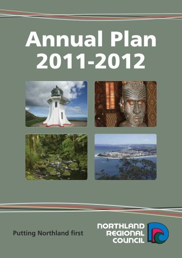 Annual Plan 2011-2012.pdf - Northland Regional Council