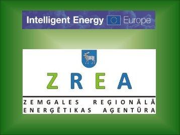 Zemgales reģiona enerģētikas aģentūras projekts.