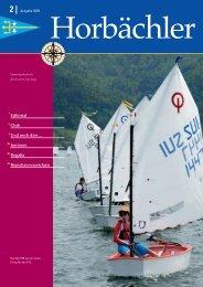 Ausgabe 2009 2 - Yacht Club Zug