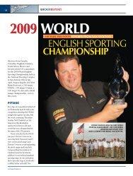 2009 WORLD - Clay Shooting USA