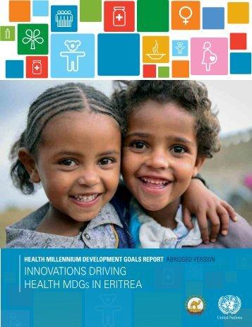Eritrea Abridged MDG Report