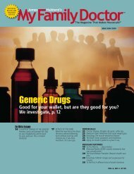 Generic Drugs - James Hubbard's My Family Doctor