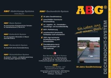Der ABG - Bauberatung Boldt GmbH