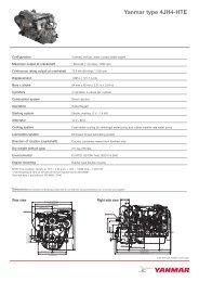 Yanmar type 4JH4-HTE