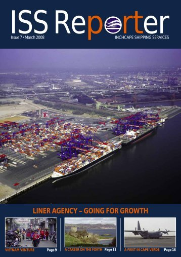 ISS Reporter - Issue 7 - Inchcape Shipping Services