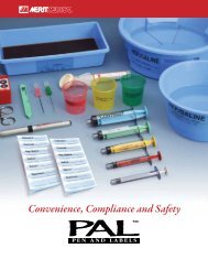 Convenience, Compliance and Safety - Merit Medical