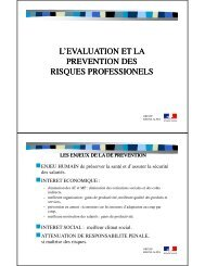 l'evaluation et la prevention des drtefp rhone-alpes risques ...